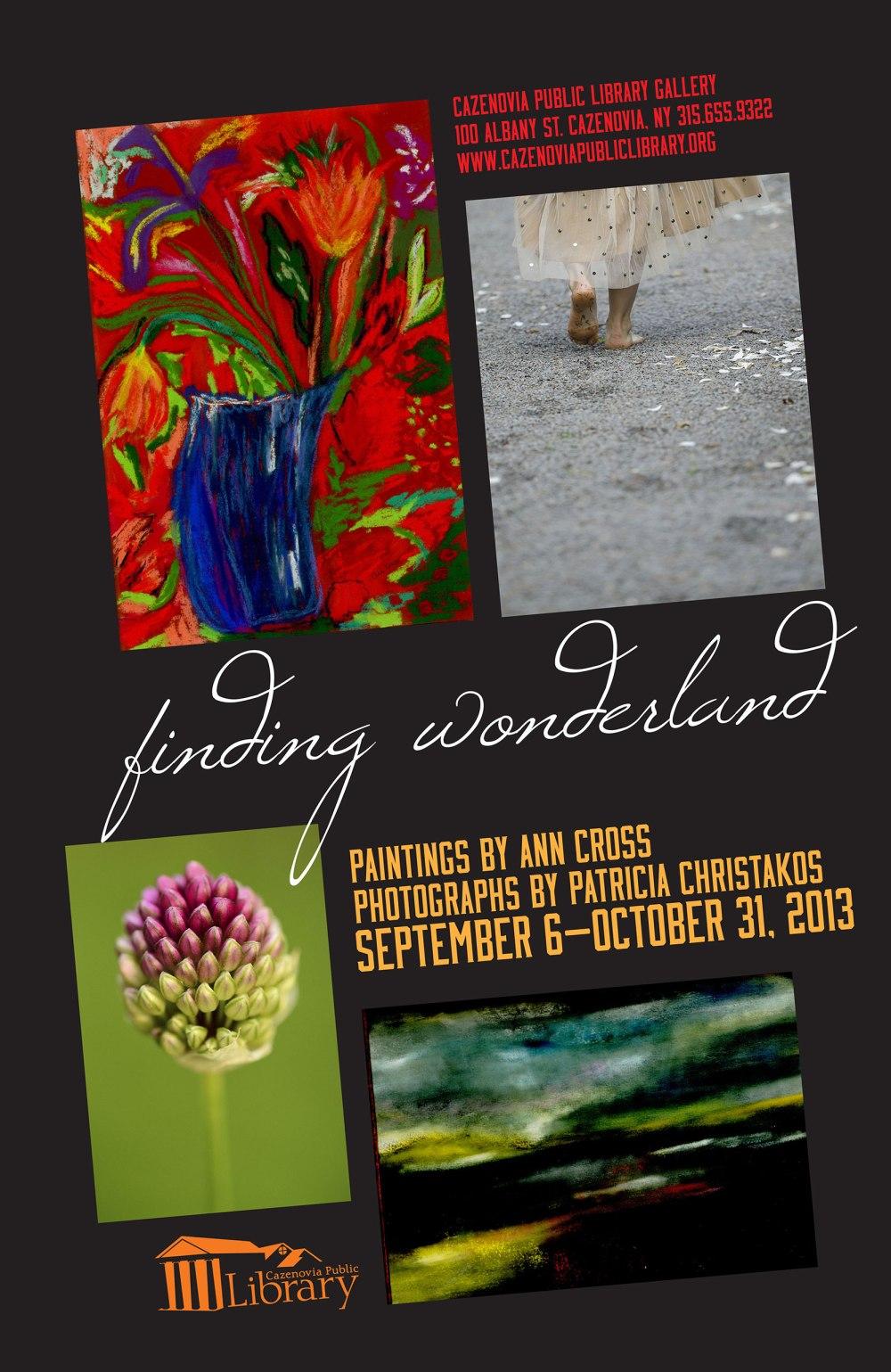 finding wonderland exhibition opens